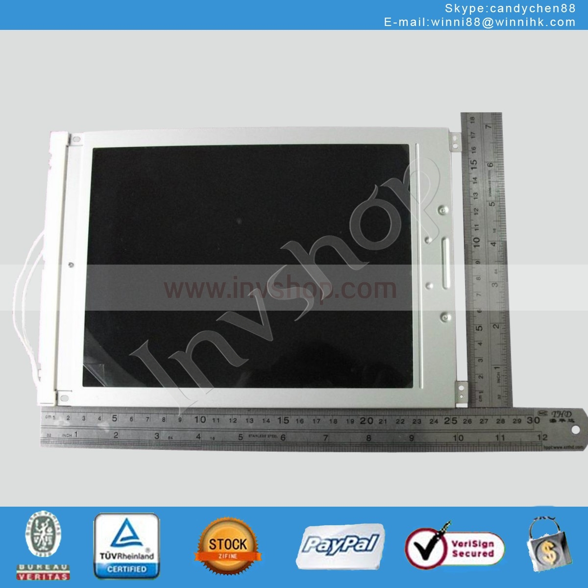 LCD Screen Display Panel 9.4 inch OPTREX 640×480 DMF50260NF-FW DMF50260NF-FW-15