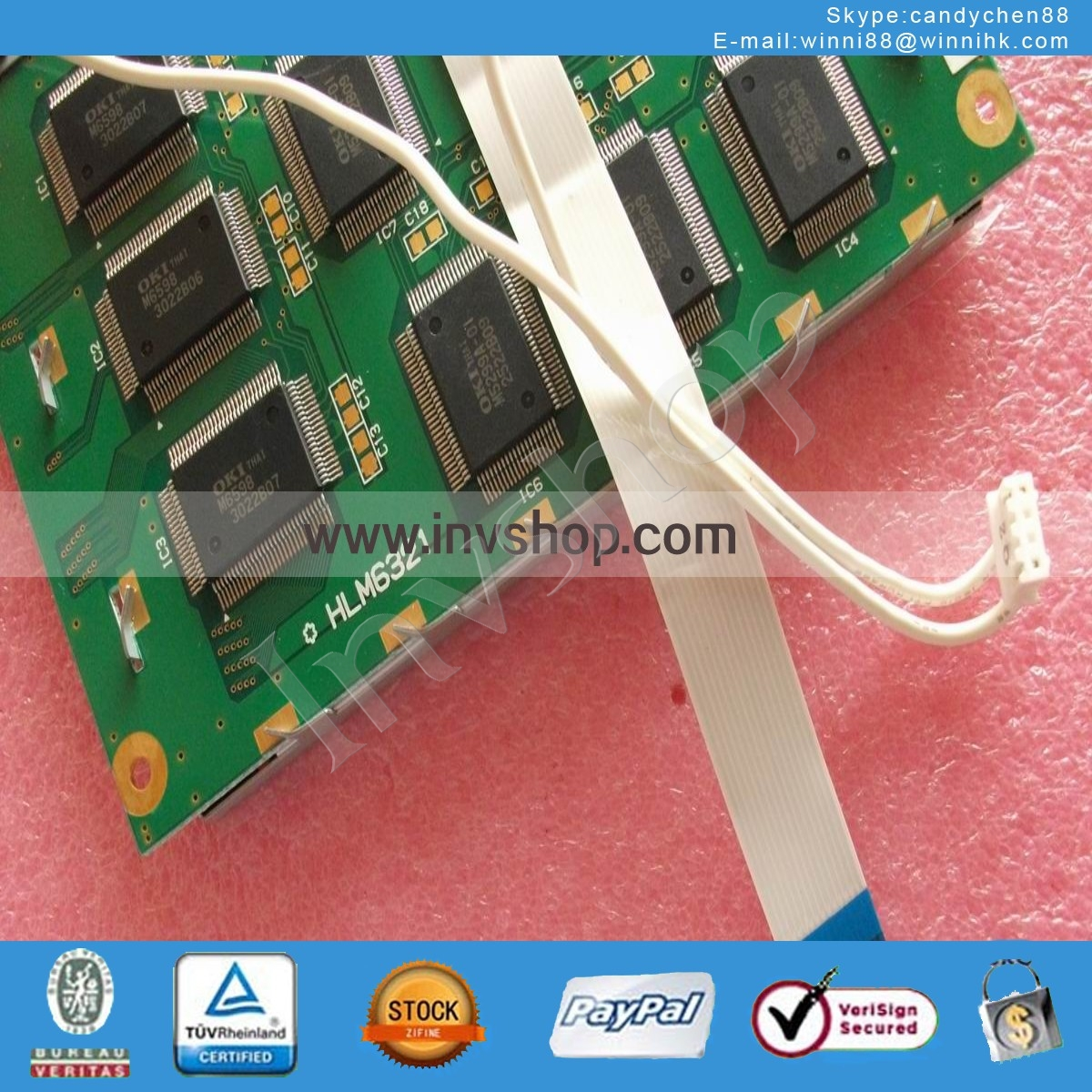 ONE NEW Hosiden STN 320*240 LCD Display Panel HLM6321