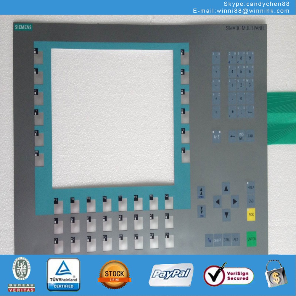 Membrane Keypad for MP277-10 6AV6643-0DD01-1AX1
