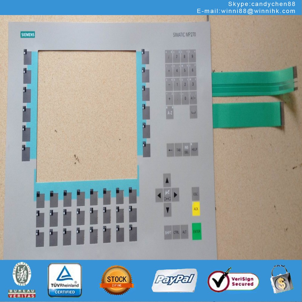 Membrane Keypad for MP270 6AV6542-0AC15-2AX0