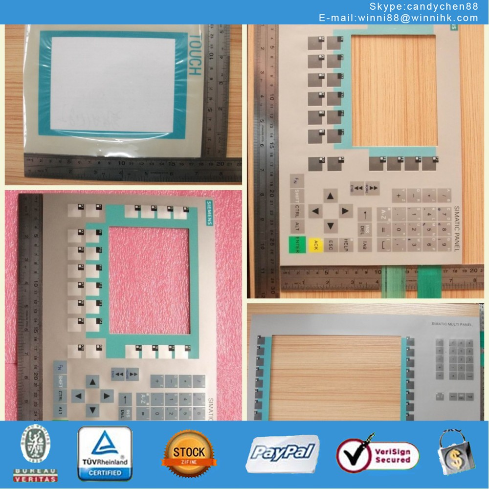 Membrane Keypad Touch for Industrial monitor SIMATIC PANEL OP37 6AV3 637-1LL00-0AX1