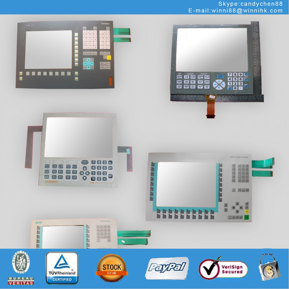 Membrane Keypad Touch for Industrial monitor SIMATIC PANEL SIEMENS OP27 6AV3 627-1LK00-0AX0