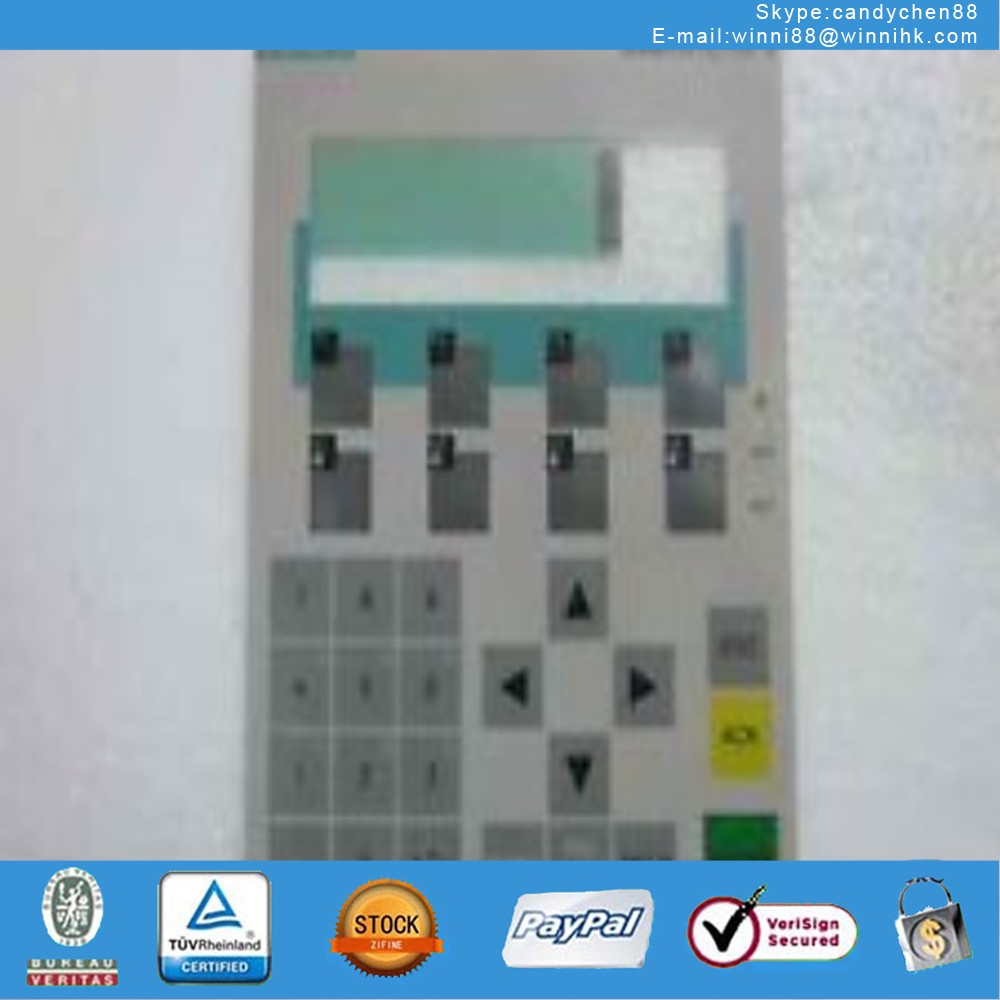 Membrane Keypad Touch for Industrial monitor SIMATIC PANEL OP7 6AV3 607-1JC20-0AX1