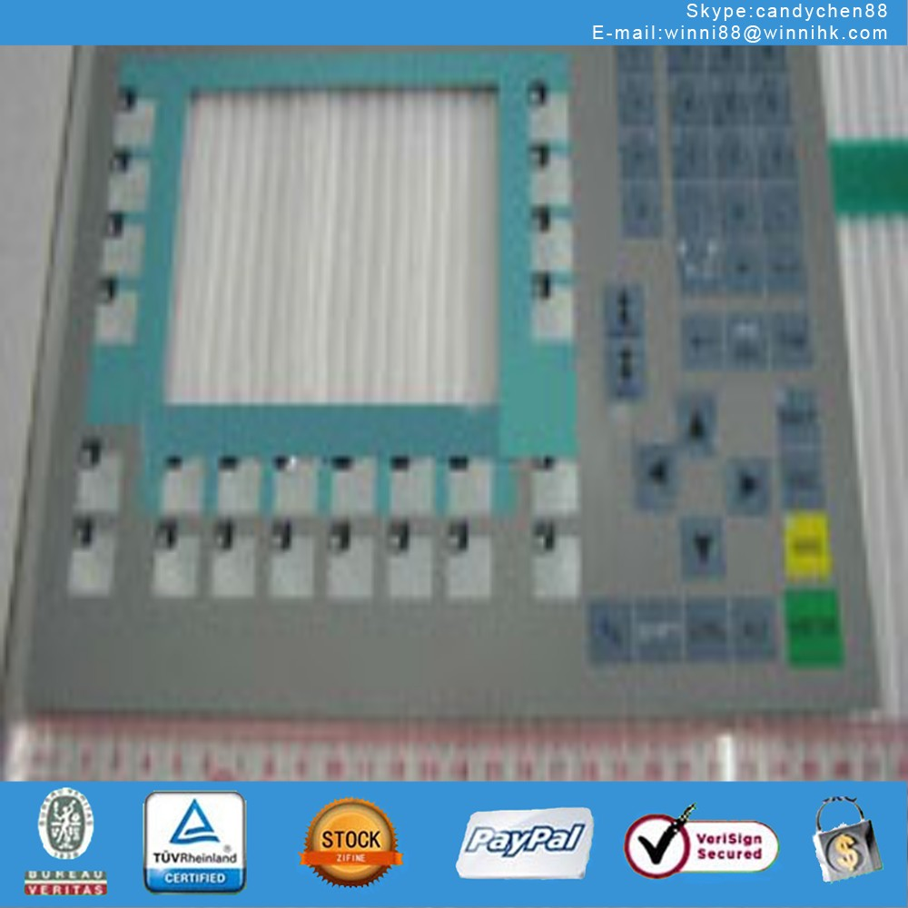 Membrane Keypad Touch for Industrial monitor SIMATIC PANEL OP270-10 6AV6 542-0CC10-0AX0
