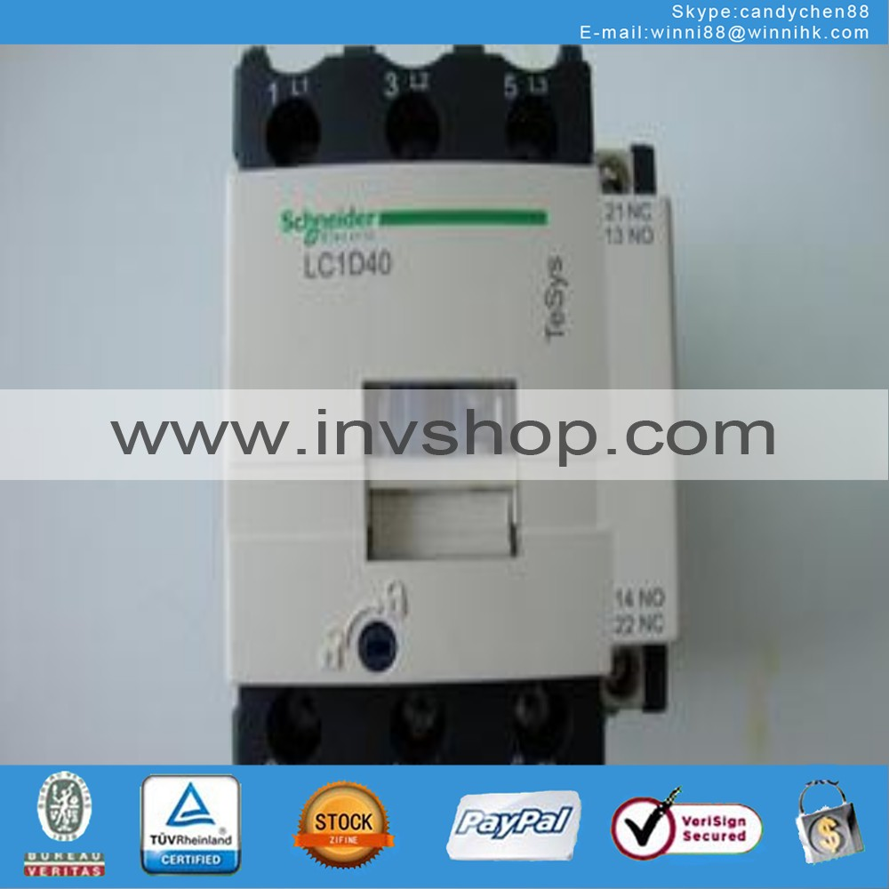 220V 00KP2 New Schneider LC1D40M7C LC1D40M7 Contactor 60 days warranty