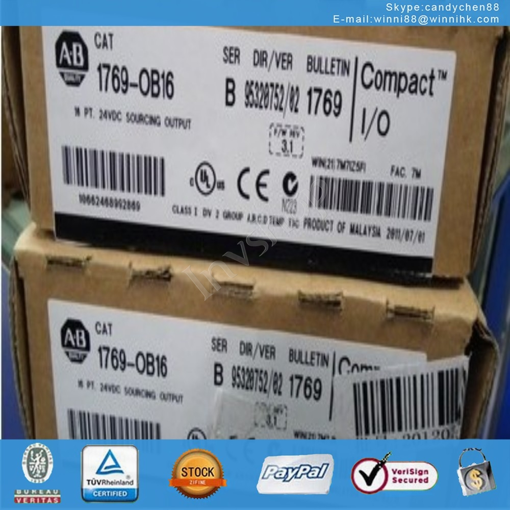 1769-OB16 PLC Used for AB 60 days warranty