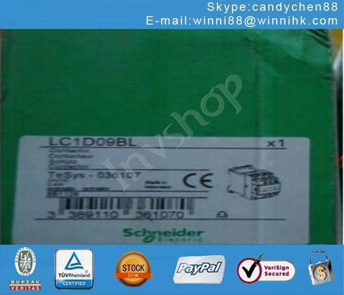 Electric Schneider LC1D09BL NEW 24V 3Pole 9A Contactor 60 days warranty