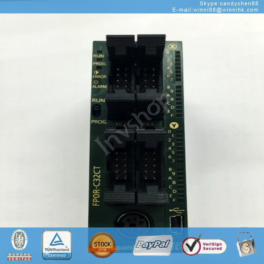 FP0R-C32CT part PLC 60 days warranty