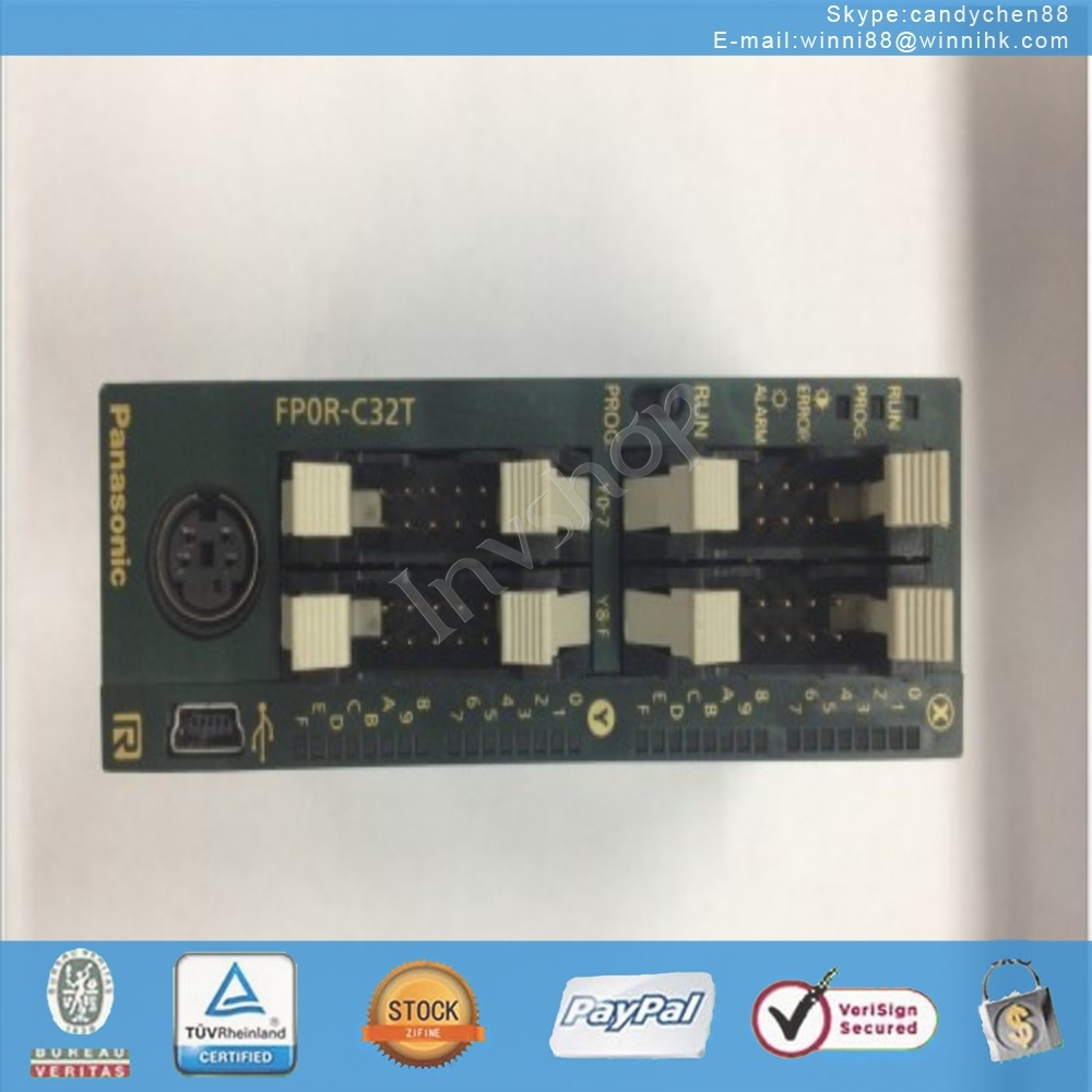 new FP0-E16RS NAIS PLC FP0-C32T Extension module