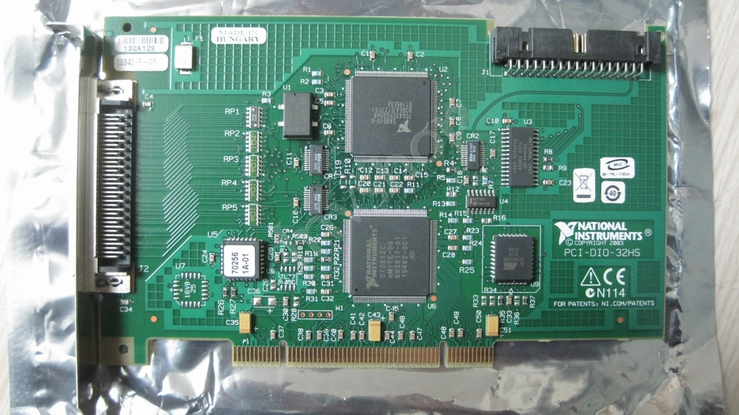 PCI-DIO-32HS(183482H-01)Data acquisition card USED
