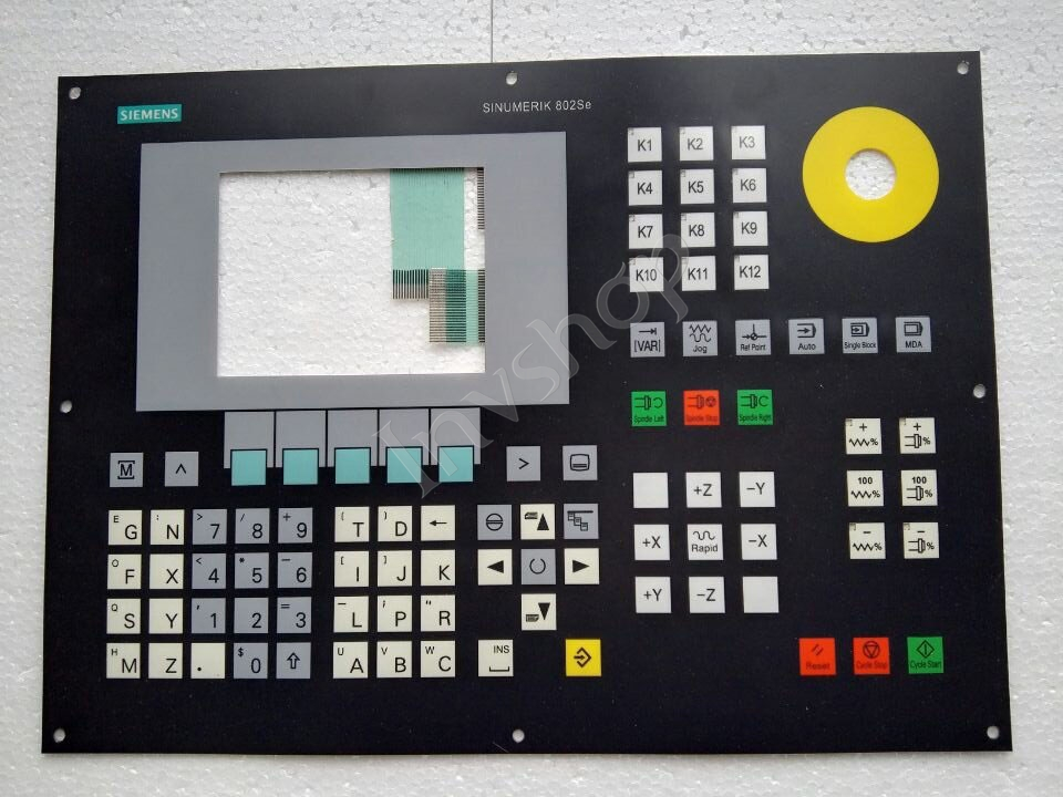 6FC5501-0AB00-0AA0 SIEMENS keyboard and keypad film 100%new