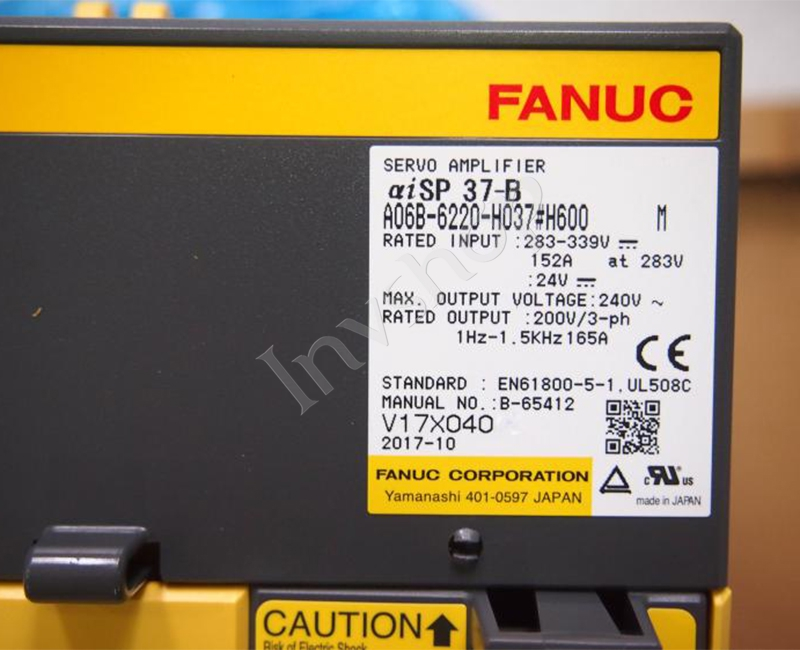 A06B-6220-H037#H600 Fanuc Servo Amplifier New and Original