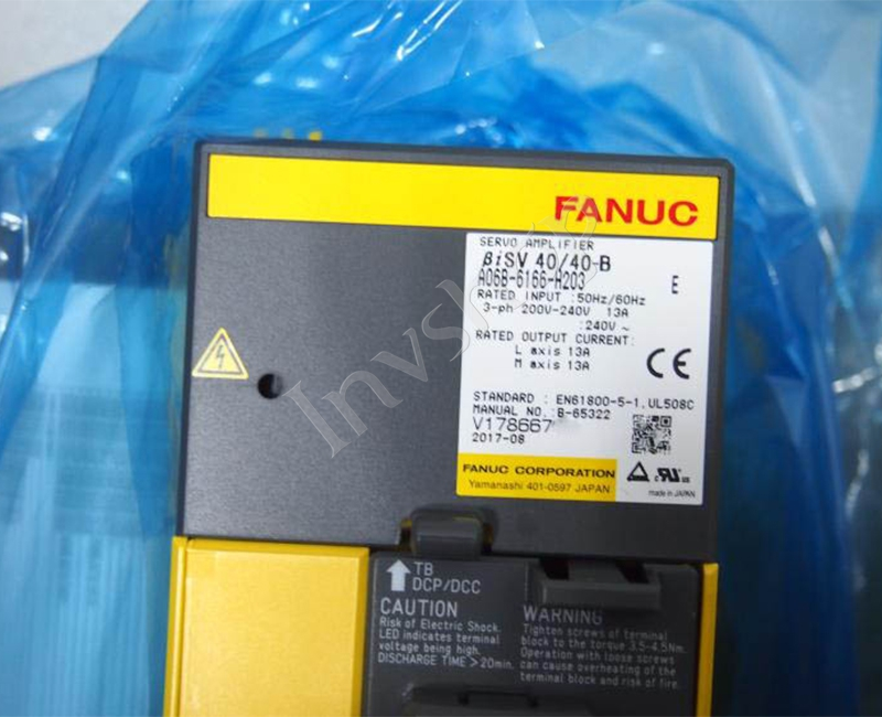 A06B-6166-H203 Fanuc servo driver New and Original