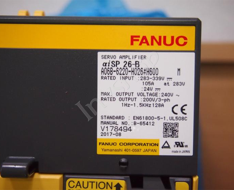 A06B-6220-H026#H600 Fanuc servo driver New and Original