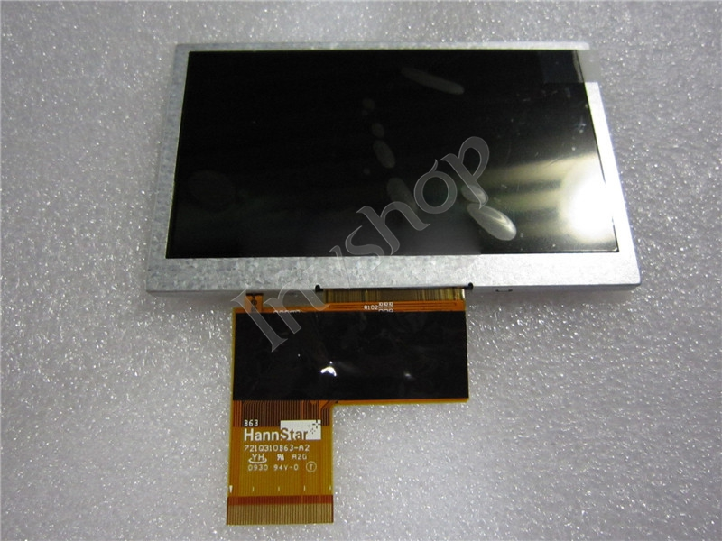 HSD043I9W1-A00 Hannstar 4.3inch LCD Display New and Original