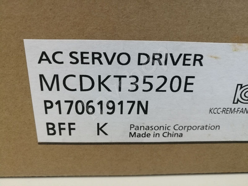 Panasonic New and Original 750W Servo Driver MCDHT3520E
