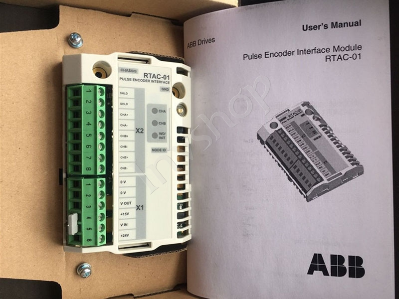 RTAC-01 ABB Encoder Card ACS800 Encoder Adapter New and Original