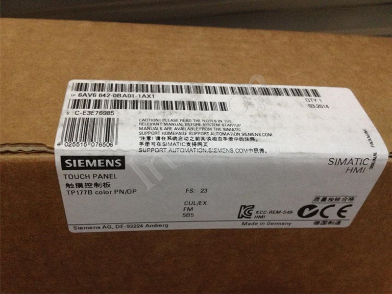 6AV6642-0BA01-1AX1 Siemens TP177BPN/DP  LCD PANEL 6 inches