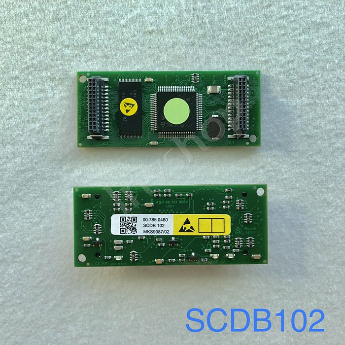 SM102 CD102 printer 00.785.0480 Module SCDB102,small card for LTK500-2