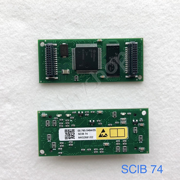 SM74 PM74 SM52 press 00.785.0484 module SClB74,SClB-74 board,small card for LTK500-2