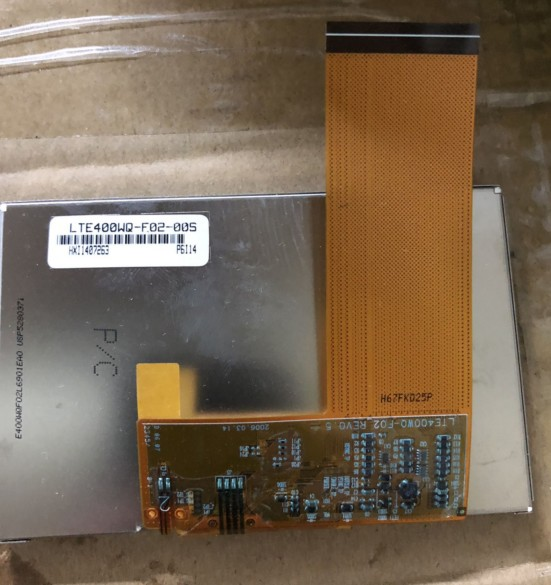 New Samsung 4inch 480*272 lcd display LTE400WQ-F02-005