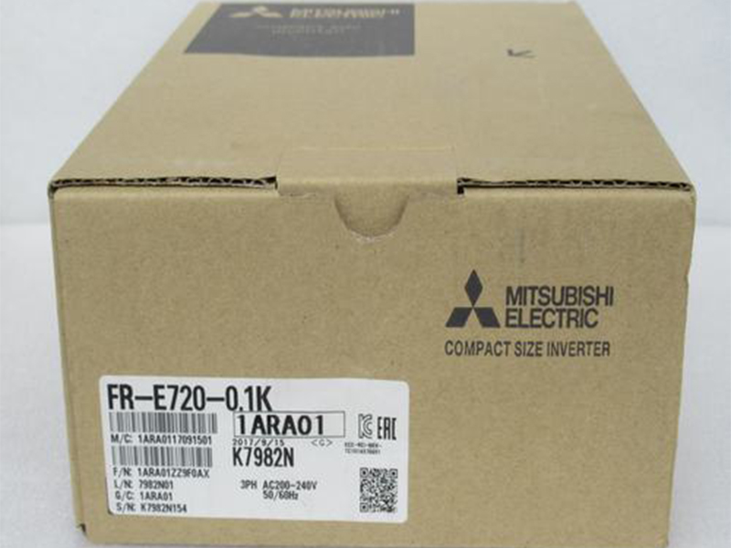 NEW IN BOX Mitsubishi INVERTER FR-E720-0.1K